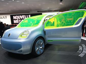 Renault разработает три городских электрокара