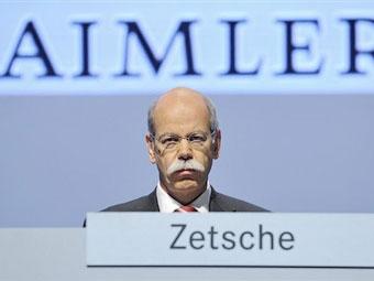 За три месяца Daimler потерял 1,28 миллиарда евро