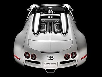 Представлены первые фотографии Bugatti Veyron без крыши