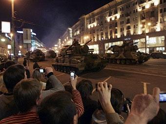Названы новые даты перекрытия улиц на майские праздники в Москве
