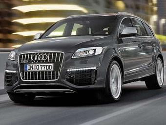 Стартовали продажи Audi Q7 с 500-сильным дизелем