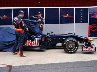 Команда Toro Rosso провела презентацию нового болида