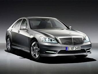 Обновленный Mercedes-Benz S-Class получил спортивный AMG-пакет