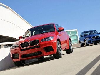 Компания BMW официально представила 555-сильные BMW X5 M и X6 M