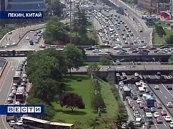 """Китайские водители проигнорировали """"День без автомобиля"""""""