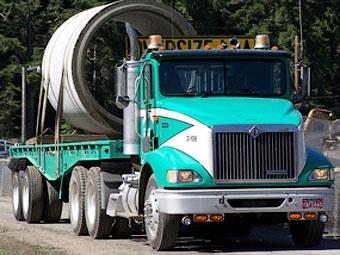 Водителя оштрафовали на 37 тысяч долларов за провоз 96 тонн груза