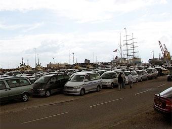 Импорт подержанных иномарок из Японии в январе почти прекратился
