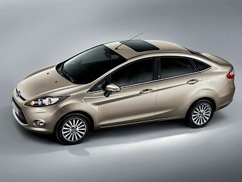 """Компания Ford показала седан на базе """"Фиесты"""""""