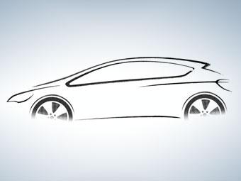 Появились первые изображения Opel Astra нового поколения