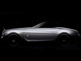 Pininfarina построит эксклюзивный кабриолет на базе Rolls-Royce