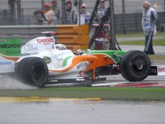 В Бахрейне Force India выступит с новым аэродинамическим пакетом