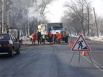 На строительство дорог в регионах России выделят 25 миллиардов рублей