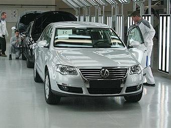Прибыль Volkswagen в 2009 году упала в три раза