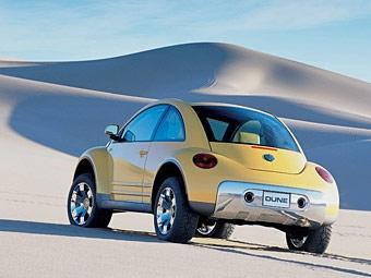 Из нового VW Beetle сделают родстер и кроссовер