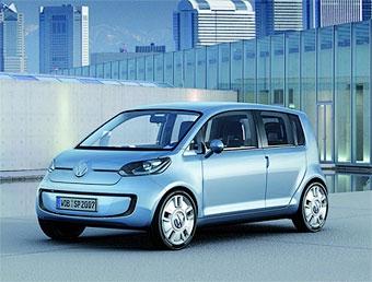"""Концепт Volkswagen """"up!"""" подрос до """"Space-up!"""""""