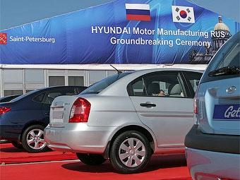 Завод Hyundai в Санкт-Петербурге заработает через полтора года