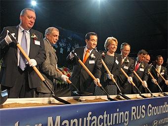 Компания Hyundai отложила строительство завода под Санкт-Петербургом