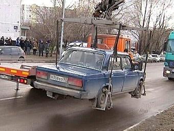 C начала года в Москве эвакуировали почти 43 тысячи машин