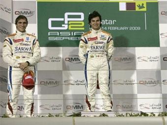 Виталий Петров завоевал второй подиум подряд в серии GP2 Asia