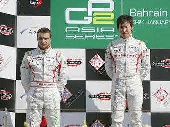 Камуи Кобаяси выиграл вторую подряд гонку GP2 Asia