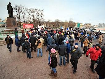 Столичным автомобилистам разрешили протестовать против пошлин