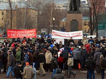 Суд отказал автомобилистам в иске против московских властей