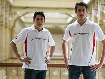 Команда Force India продлила контракты со своими пилотами
