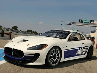 Марка Maserati подготовила гоночную версию купе GranTurismo