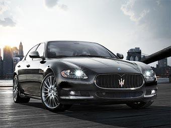 Maserati привезет в Детройт самую мощную версию седана Quattroporte