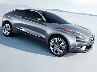 Citroen привезет в Париж новый концептуальный кроссовер