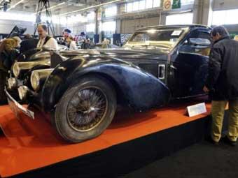 Раритетный спорткар Bugatti продали за 3,4 миллиона евро