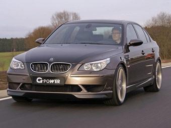 Тюнинговая BMW M5 разогналась до 360 километров в час
