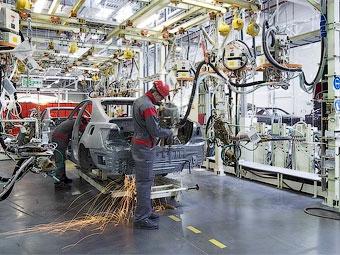 Российский завод Toyota вновь приостановит работу