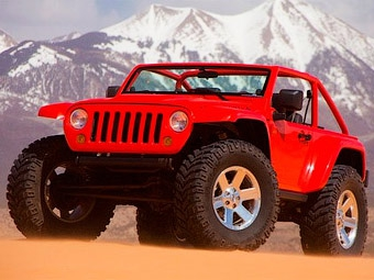 Компания Mopar представила в пустыне два новых внедорожных концепт-кара Jeep