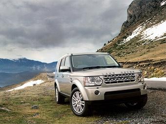 Компания Land Rover обновила внедорожник Discovery