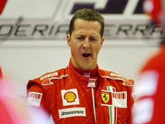 Михаэль Шумахер сел за руль такси