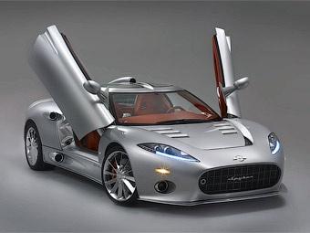 Марка Spyker показала на Женевском автосалоне новый суперкар