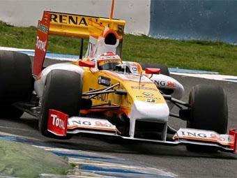 Фернандо Алонсо опередил пилотов Brawn на тестах в Хересе