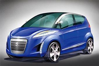 Suzuki покажет в Париже прототип микровэна