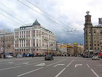 Строительство развязки на Пушкинской площади перенесено на 2010 год