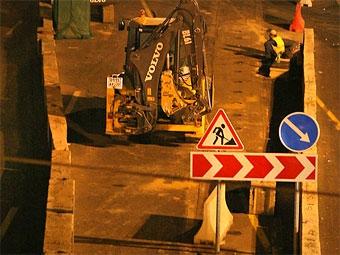Кризис не повлияет на темпы строительства дорог в Москве