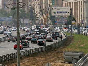 """Реконструкция """"Ленинградки"""" завершится в 2009 году"""
