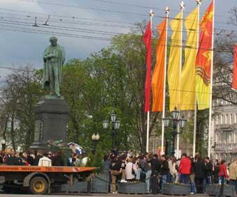 Развязку на Пушкинской площади в Москве построят в 2008 году