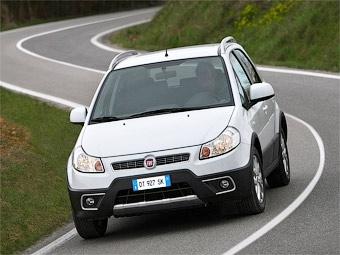 Компания Fiat обновила кроссовер Sedici