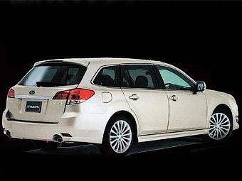 Японский журнал рассекретил новый универсал Subaru