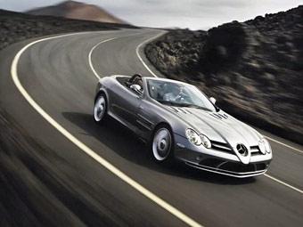 Mercedes прекратит выпуск суперкаров SLR McLaren в 2009 году