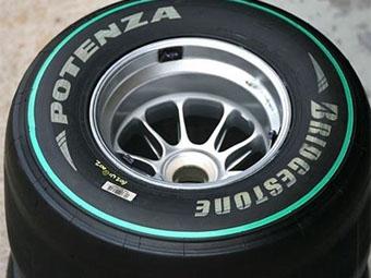 """Bridgestone будет отмечать мягкие шины """"Формулы-1"""" зеленой полосой"""