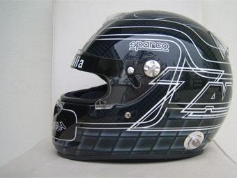 Алессандро Занарди изменил раскраску своего шлема