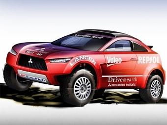 "Mitsubishi Lancer Х поедет в ""Дакаре-2009"""