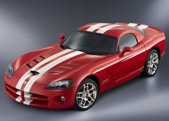 Dodge подарит 25-тысячный экземпляр Viper пилоту NASCAR